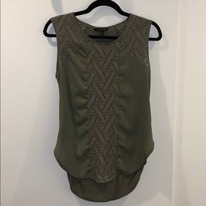 Banana Republic Olive Tank